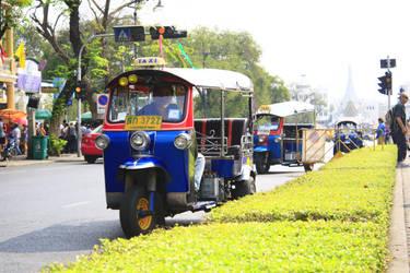 Tuk-tuk in Thailand by Em-Ar-Ae
