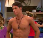Shane Harper shirtless
