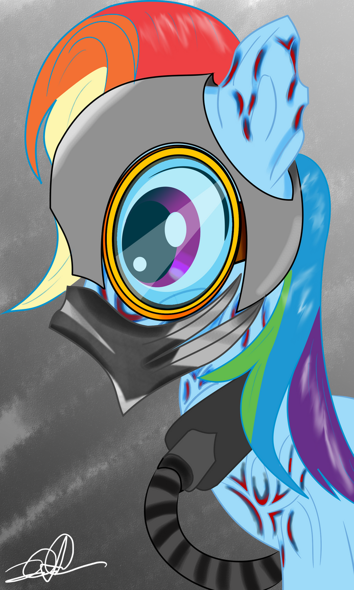 Rainbow Dash Concept Art by StormyTheTrooper