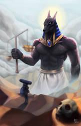 Anubis by Weakjounin