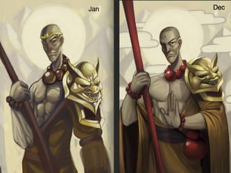 This year's progress by Weakjounin