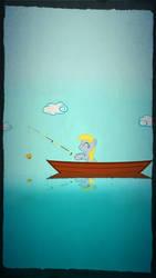 Fishin' With Derpy by zacorasfollower