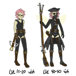 Fallcrest - Higher level Outfit Concepts for Terry