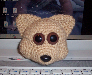 Crochet Amigurumi Head : Crochet Amigurumi fox head by Downesh11 on deviantART