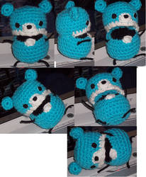 Amigurumi Beartato with mouth by Downesh11