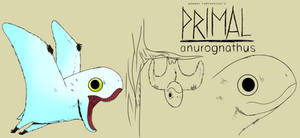 Genndy tartakovsky primal anurognathus style