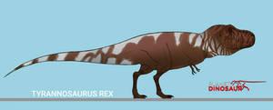 If tyrannosaurus rex was in planet dinosaur.