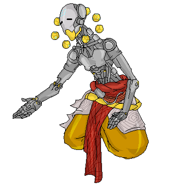 Attractive Zenyatta Pixel By Br00d Mother ...