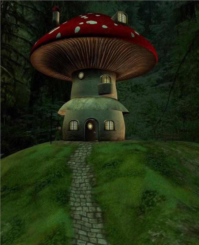 Livin' In A Mushroom 2 by J-o-r-d-i