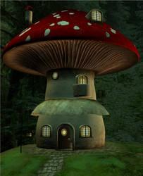 Livin' In A Mushroom closer by J-o-r-d-i