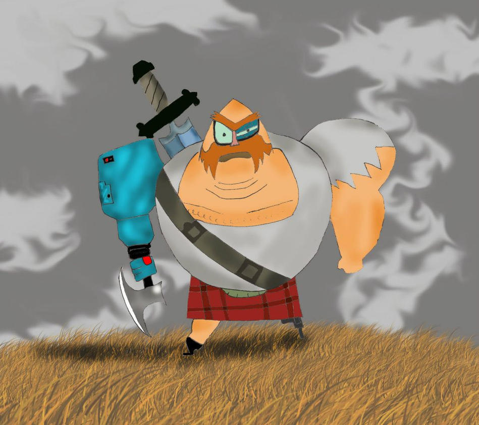 Samurai Jack Scotsman Saves JackSamurai Jack Scotsman