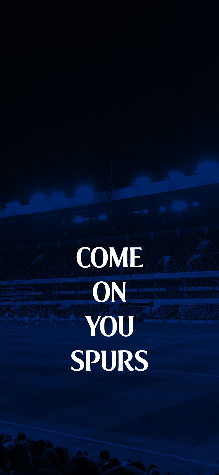 Come On You Spurs Wallpaper For Iphone X By Mevlutats On Deviantart