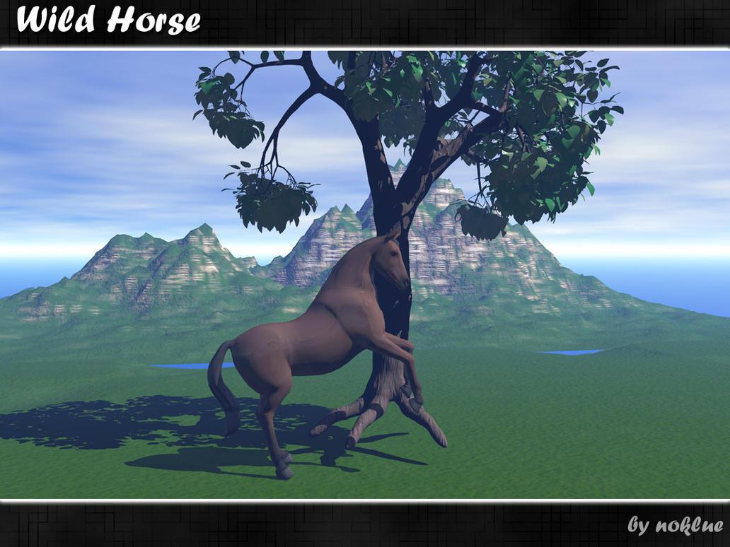 Wild Horse by noklue