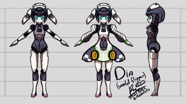 Dia (World Flipper) Reference.