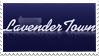 Lavender Town Stamp by JocelynSamara
