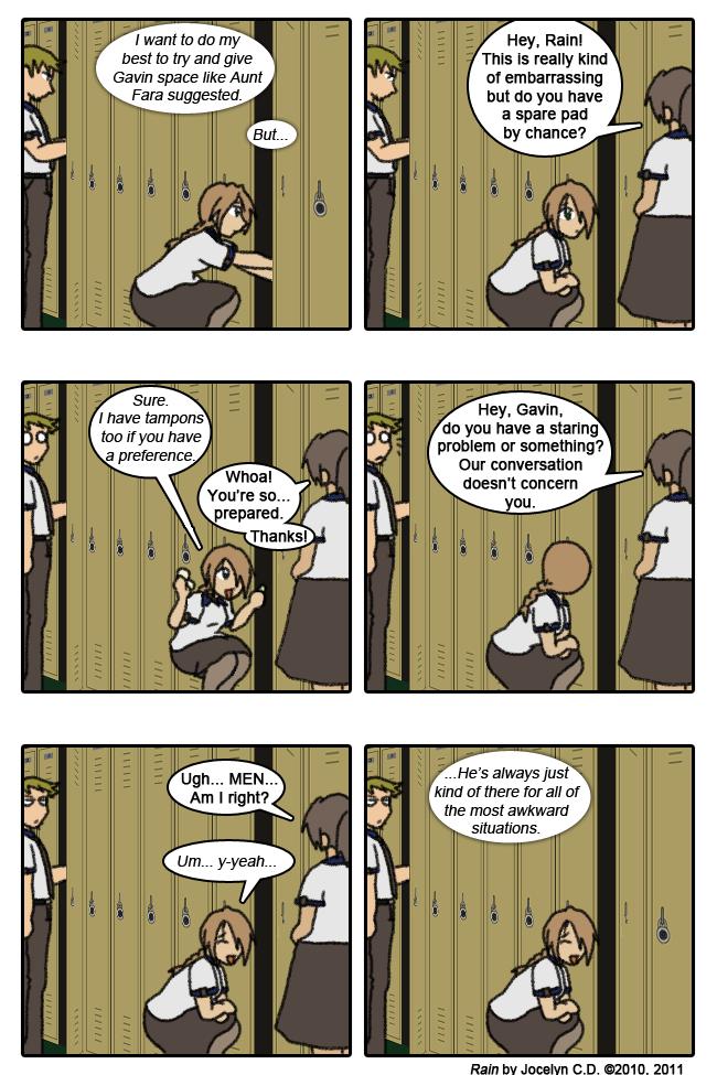 RAIN p.25 - Awkward by JocelynSamara