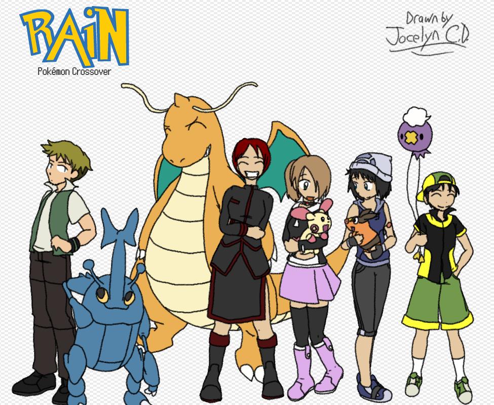 Pokemon and Rain? by JocelynSamara