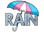 Rain - Mock Logo Design 1 by JocelynSamara