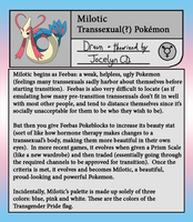 Milotic - The Transsexual Pokemon by JocelynSamara