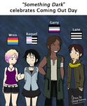 Something Dark celebrates Coming Out Day!