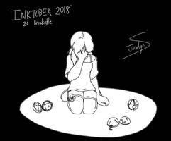 Inktober 2018 - 20. Breakable by JocelynSamara