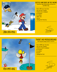 Mario Maker 2 Stages