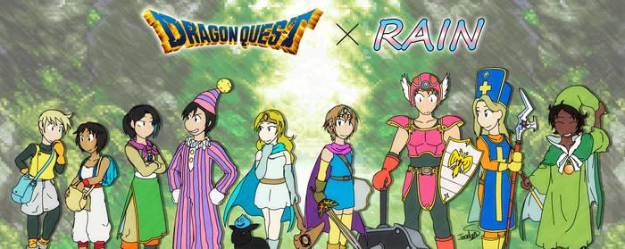 Dragon Quest x Rain