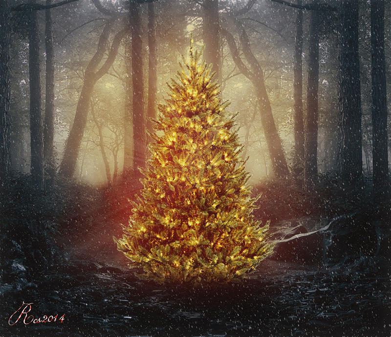 The christmas light by RoseCS