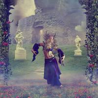 Euphrosyne Goddess of Joy by RoseCS