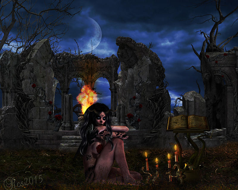 Marie Laveau Queen of Voodoos by RoseCS