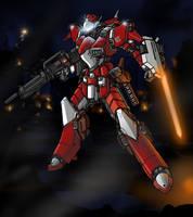 Red Airborne Assault by Seig-Warheit