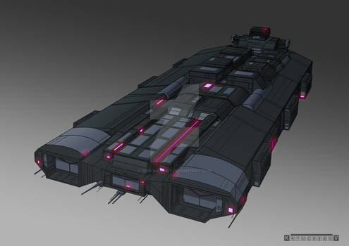 Commission : carrier space ship