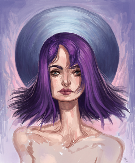 Purple by AnaCaspao