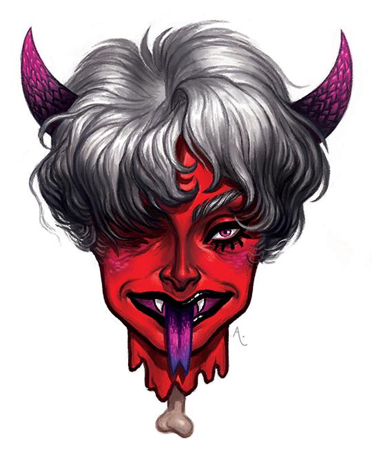 Demon by AnaCaspao