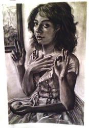 self portrait -- life drawing