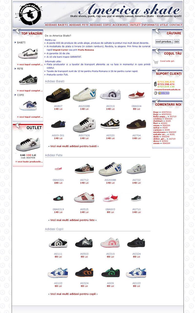 america skate online shop by phk on deviantart. Black Bedroom Furniture Sets. Home Design Ideas