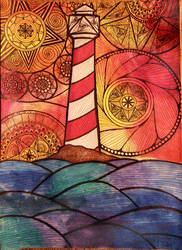 The Lighthouse by Anna-Alice