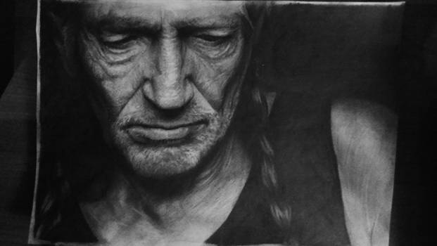 Willie with pencil