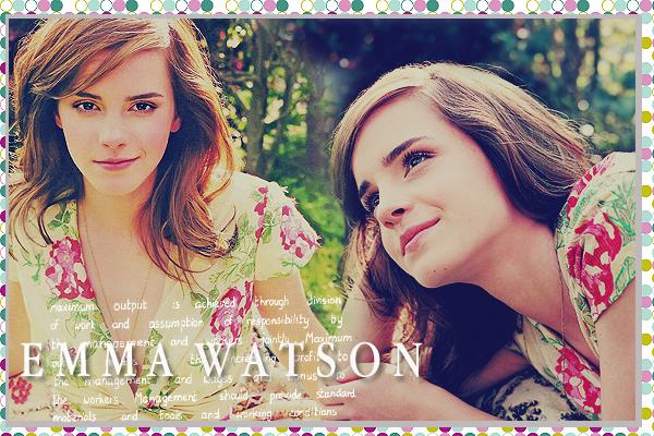 Emma Watson by MarySeverus
