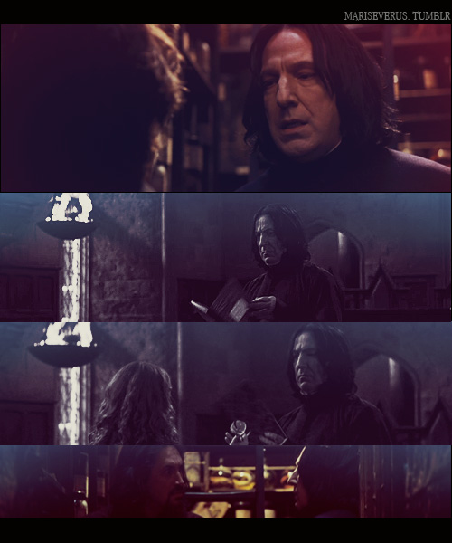Snape. Goblet of fire. by MarySeverus