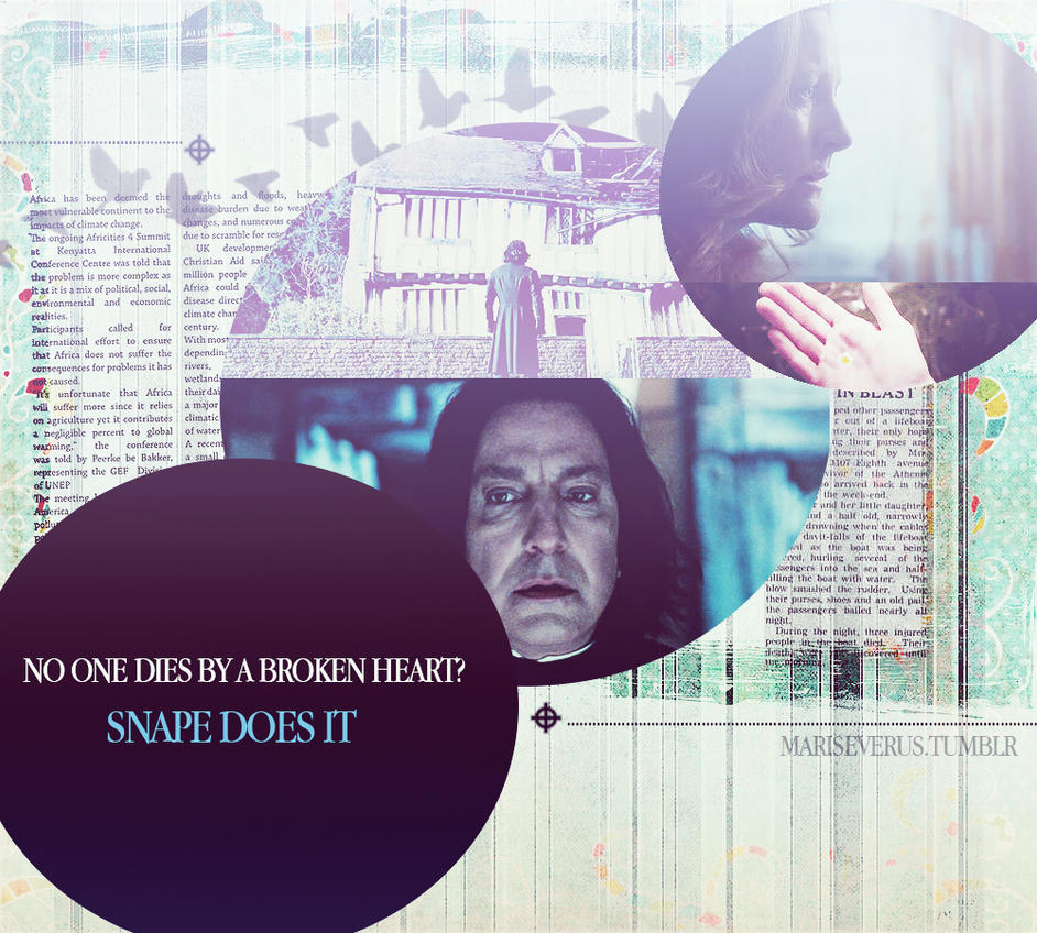 Snape and Lily II by MarySeverus