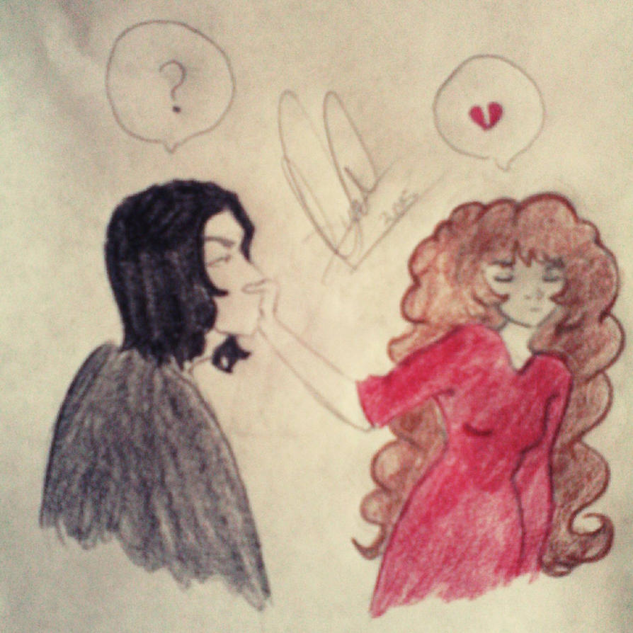 Severus and Hermione, no time for kissing by MarySeverus