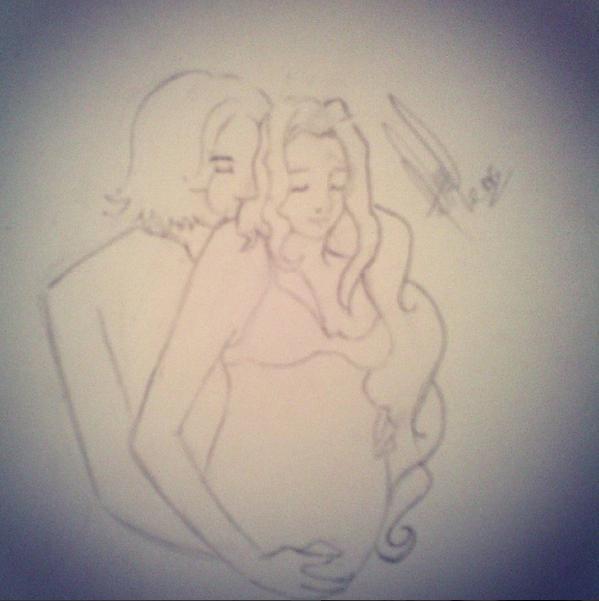 Snamione. Pregnancy by MarySeverus