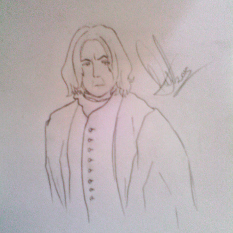 Quick Severus Snape by MarySeverus
