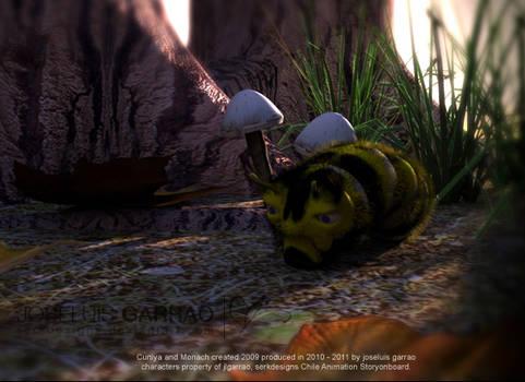 Monarch from Cuniya animation