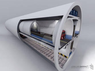 Architecture Tunnel Viaducto