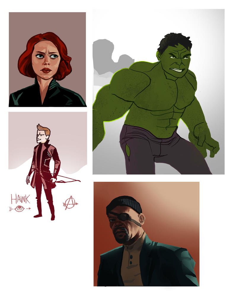Avengers Style Test by JohntheMurray