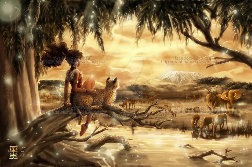 African Paradise by MaShachou