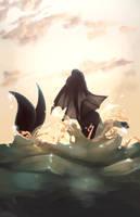 04 Vaporeon by Skitea
