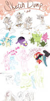 Sketch dump 6 by Skitea